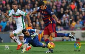 FC Barcelona - Granada CF: puntuaciones del Granada CF, jornada 19 de la Liga BBVA