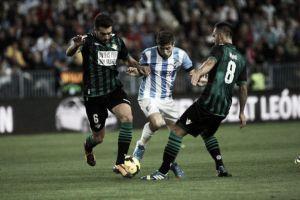 Dos años desde el último Málaga - Betis en La Rosaleda