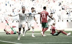Cristiano Ronaldo resolve novamente, Portugal vence e elimina Marrocos
