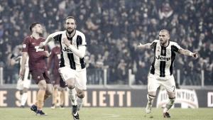 Juve-Roma: Higuain fa volare i bianconeri. Giallorossi a -7