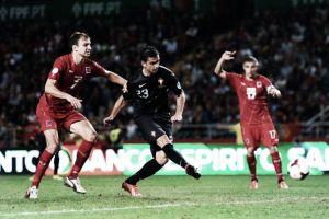 Hélder Postiga, titular en la victoria ante Armenia