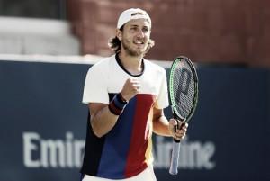 Davis Cup, semifinali: Coric piega Johnson, a Pouille la battaglia con Bautista Agut