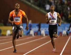 Tyson Gay y Asafa Powell, 'cazados' por dopaje