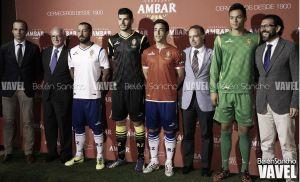 Presentadas las nuevas equipaciones del Real Zaragoza