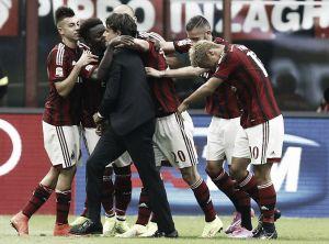 """Milan, Inzaghi soddisfatto:""""Sono felicissimo, siamo quasi alla pari di chi lotta per lo scudetto"""""""