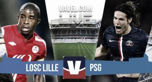 Resultado LOSC Lille - PSG en la Ligue 1 2015 (0-1)