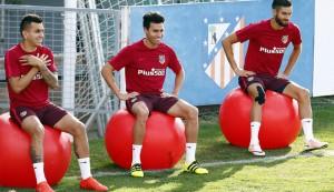 Un Atlético con 17 internacionales