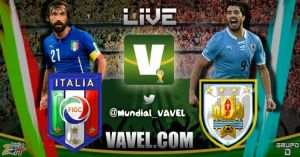 Live Italy vs Uruguay: Scores and Stream of 2014 FIFA World Cup
