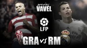 Granada CF - Real Madrid: máxima exigencia ante la pólvora blanca