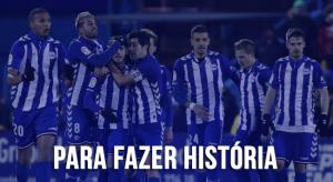 Para fazer história: Alavés chega à primeira decisão de Copa do Rei buscando primeiro título nacional