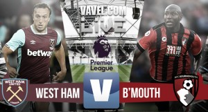As it happened: Late Antonio header steals points for Hammers against ten-man Bournemouth
