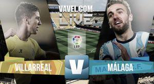 Resultado Villarreal CF vs Málaga CF 2015 de Liga BBVA 2015 (2-1)