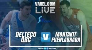 ResumenDelteco GBC vs Montakit Fuenlabradaen Liga Endesa 2017-2018 (81-74)
