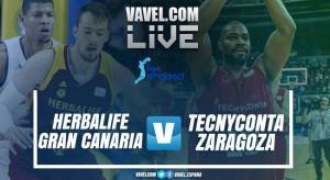 ResumenHerbalife Gran Canaria vs Tecnyconta Zaragoza en ACB 2018(90-70)