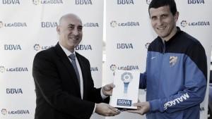 Javi Gracia, nombrado mejor entrenador de diciembre en la Liga BBVA