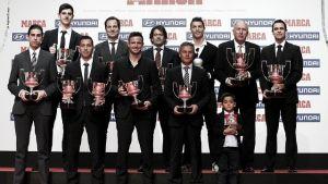 Messi, Iniesta, Deulofeu y Vilanova premiados por Marca y la LFP