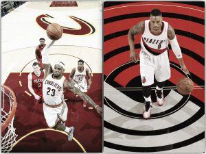 LeBron James y Damian Lillard, Jugadores de la Semana en la NBA