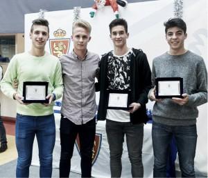 El Real Zaragoza entrega los Premios Ciudad Deportiva 2015
