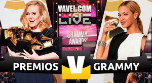 Ganadores Premios Grammy 2015