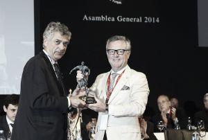 El Real Betis es galardonado con el premio Zaballa por su conducta en El Sadar