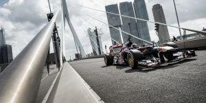 Dos heridos en la construcción de la nueva sede de Toro Rosso en Faenza
