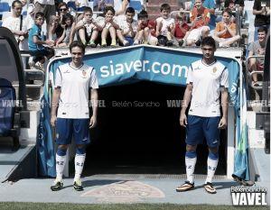 Fotos e imágenes de la presentación de Willian José y Lolo con el Real Zaragoza