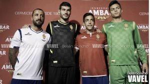 Fotos e imágenes de la presentación de las equipaciones del Real Zaragoza 2014/2015