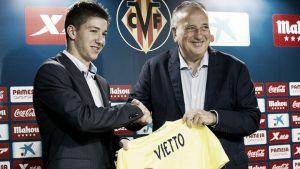 """Vietto: """"Espero poder seguir creciendo en este gran club"""""""