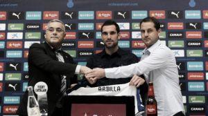 Arbilla, presentado como nuevo jugador del Espanyol