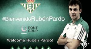 Rubén Pardo llega cedido al Real Betis