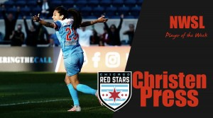 Christen Press named Player of the Week