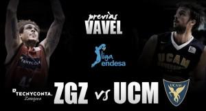 Tecnyconta Zaragoza - UCAM Murcia: ganar para romper la racha negativa en tierras mañas