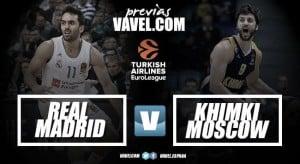 Previa Real Madrid - Khimki Moscow: dos de las sensaciones del Eurobasket, cara a cara