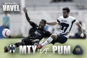 Previa Monterrey – Pumas: por un lugar en la liguilla