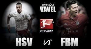 Previa Hamburgo SV - FC Bayern: la irregularidad local contra la 'apisonadora' bávara