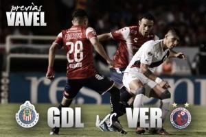 Previa Chivas - Veracruz: Dos peleas opuestas con el objetivo de triunfar