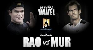 Milos Raonic - Andy Murray: duelo generacional por la gloria