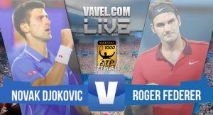Resultado Djokovic vs Federer en la Final del Masters 1000 de Roma 2015 (2-0)