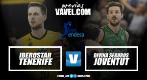 Previa Iberostar Tenerife - Divina Seguros Joventut: los Playoffs y la permanencia, en juego