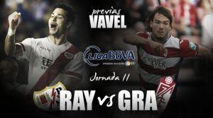 Rayo Vallecano - Granada CF: duelo en horas bajas