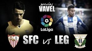 Previa Sevilla FC - CD Leganés: una victoria para no perder la fe