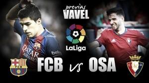 Previa FC Barcelona - CA Osasuna: prohibido dormirse