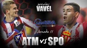 Atlético de Madrid - Sporting de Gijón: en busca de la estabilidad