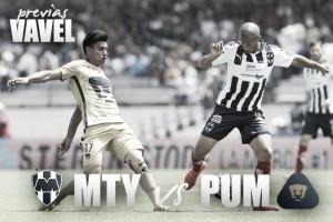 Previa Monterrey - Pumas: con sed de victoria