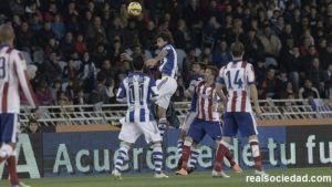 Atlético de Madrid - Real Sociedad: bajos en defensas