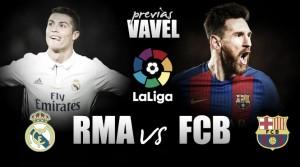 Previa Real Madrid - FC Barcelona: batalla por el trono