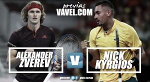 Previa Alexander Zverev - Nick Kyrgios: a un paso de la final