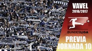 Previa de la jornada 10 de la Bundesliga 2016/2017