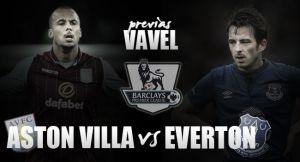 Aston Villa - Everton: deberes hechos y por hacer