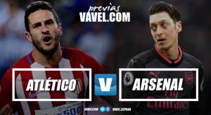 Previa Atlético de Madrid vs Arsenal: objetivo Lyon
